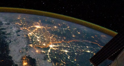 Земля: вид из космоса (НАСА, МКС)