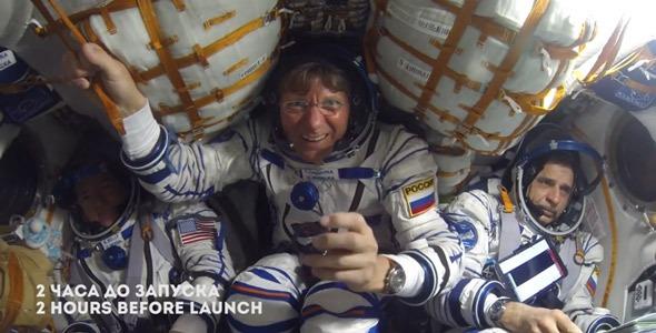 Полет на МКС без цензуры Союз ТМА-16М